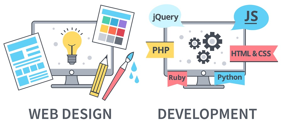 Difference of Web Design and Development