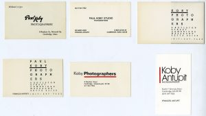 Different Sizes Of Attractive Business Card