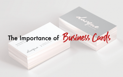 Importance Of Attractive Business Card Designs