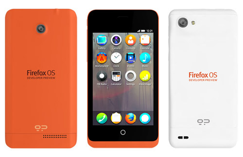 Flagship Firefox OS Smartphone