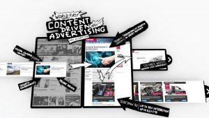 Content advertisements