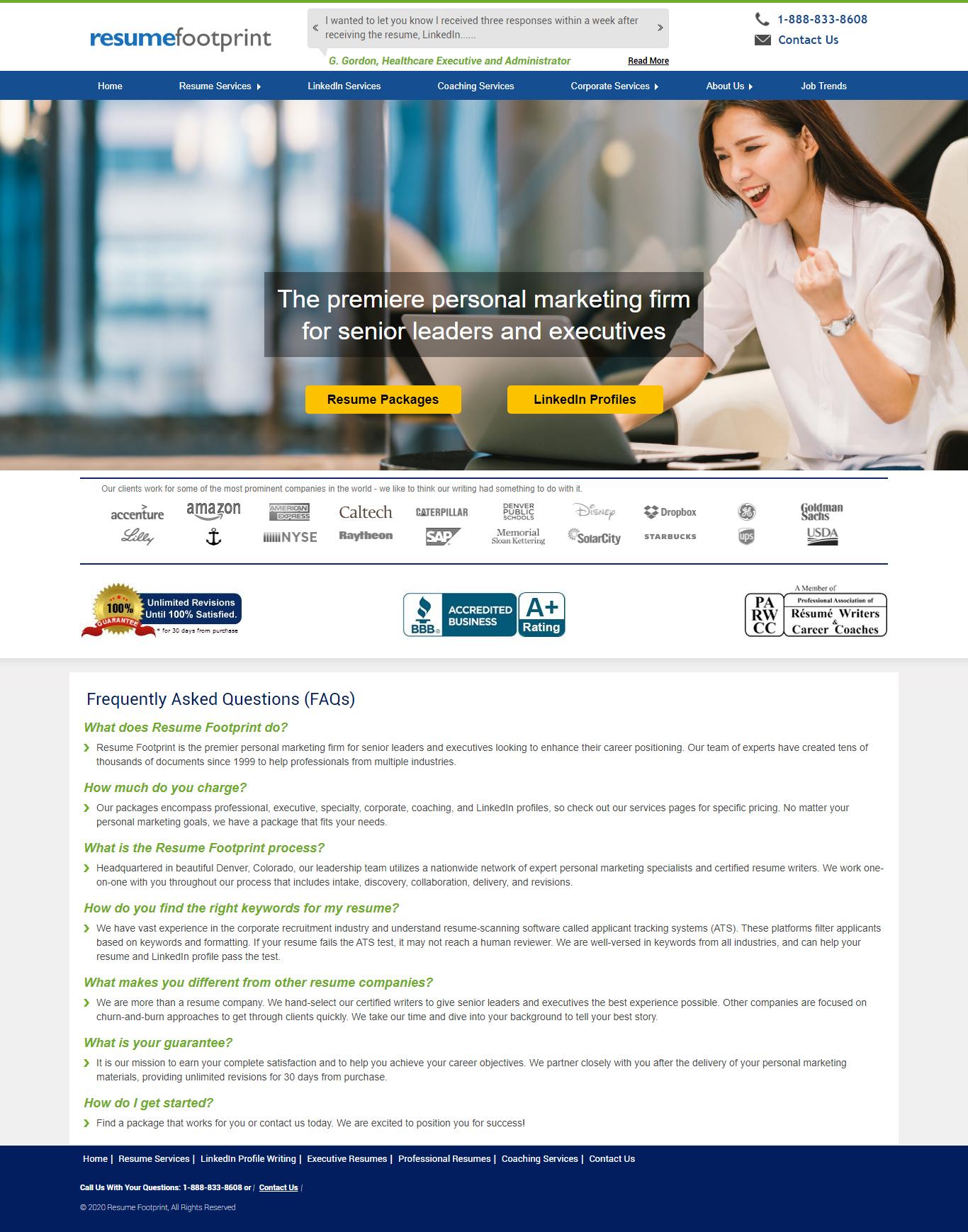 resumefootprint