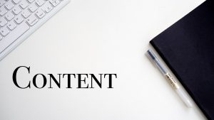 Content Is The King Of Any Website